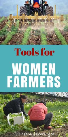 Do you want to be a farmer, but you're a woman? There are tools for women farmers to help them find success in the farming field. Check out these helpful tips. Organic Gardening, Gardening Tips, Urban Gardening, Hydroponic Gardening, Indoor Gardening, Vegetable Gardening, Farm Women, Female Farmer, Family Child Care