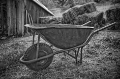 Farm works Wheelbarrow, Garden Tools, Nature, Naturaleza, Outdoor Power Equipment, Off Grid, Natural, Mother Nature, Scenery