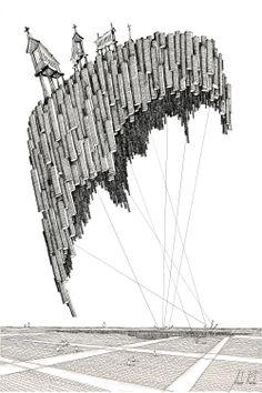 """Arte+e+Arquitetura:+""""A+Persistência+do+Traço""""+por+André+Rocha"""