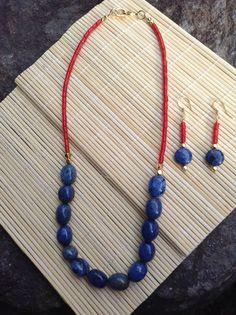 Beijing Necklace & earrings by ScarletMareStudio on Etsy, $58.00