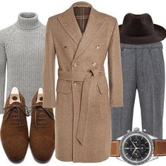 "manolosweden: ""Friday's inspiration from Manolo - The Camel Coat…visit Manolo.se (link in bio) for more information about the products. Camel Coat Outfit, Madrid, Casual Outfits, Fashion Outfits, Fashion Trends, Fashion Guide, Sophisticated Dress, Well Dressed Men, Gentleman Style"