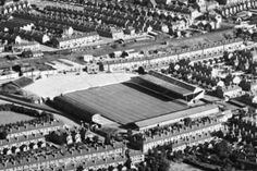 Highfield Road, Coventry City in the 1960s.