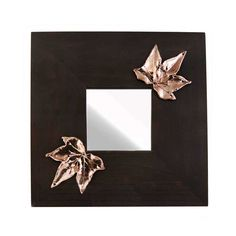 Wooden mirror with two ivy leaves, in shiny copper. The drawing and engraving in wax is made by the artist Marios Voutsinas. Dimensions: 25 cm x 25 cm x 1 cm Copper. Ivy Leaf, Home Gifts, Greece, Unique Gifts, Wax, Copper, Leaves, Mirrors, Drawings