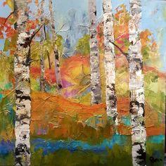 Aspen Path. Canadian artist Laila Jensen.