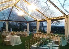 Stunning tent design