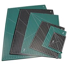 """US Art Supply® 24"""" x 36"""" GREEN/BLACK Professional Self Healing 5-Ply Double Sided Durable Non-Slip PVC Cutting Mat Great for Scrapbooking, Quilting, Sewing and all Arts & Crafts Projects (Choose Green/Black or Pink/Blue Below) Us Art Supply http://www.amazon.com/dp/B00L5I8RTW/ref=cm_sw_r_pi_dp_9QI-vb0HACR8Y"""