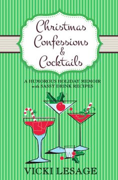 Pam's Book Reviews: Christmas Confessions and Cocktails by Vicki Lesag...
