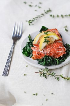 Herb-Baked Salmon   27 Big And Impressive Dishes For Easter