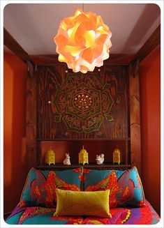 """I love the feel of """"bohemian.""""  The colors are so rich, yet warm and welcoming and the loose sort of style just makes you want to stay forever."""