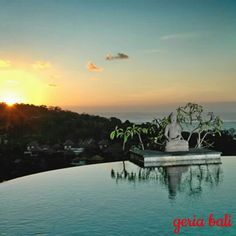 Villa Soma is one of Bali's #newest and most #unique luxury villas. #Facing West on the first hill in the #Jimbaran end of the Bukit peninsula, Villa Soma has panoramic sea, #hill and #sunset views over Jimbaran bay.  www.geriabalivacation.com/villa-soma/  #bali #luxury #beautifuldestinations #destinosmaravilhososbyeli #hgtv #roomcritic #luxuryworldtraveler #vacation #holiday #honeymoon #thosesummerdays__ #travellerworld #theluxurylifestylemagazine #tgif #thegoldlist #instatravel #balivilla #baliholiday #golden_heart #tbt #nevergoingtoboycottbali #travel #geriabali #bossresorts #trip #indo Bali Holidays, Jimbaran, World Traveler, Luxury Villa, Golden Heart, Bali Travel, River, Seasons, Vacation
