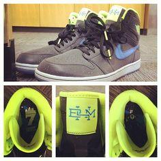 """Jared Jeffries Nike Air Jordan 1 """"Black History Month"""""""