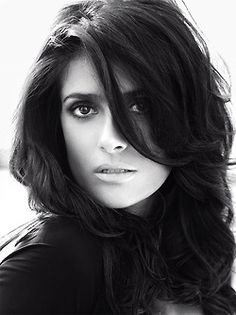 Mexican-American actress Salma Hayek appears in 'Macho-(Alp)Traum' (Macho's (Bad) Dream) for Vogue Germany September 2012 as photographed by Alexi Lubomirski and styled by Nicola Knels.