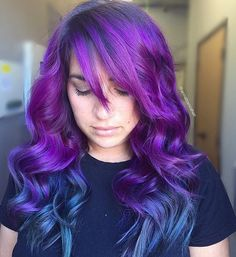 Very Pretty by Artist @annabiancahair of Redlands, CA  #purplehairaffair