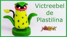 Como Hacer Pokémon Victreebel de Plastilina/ How To Make Pokémon Victree...