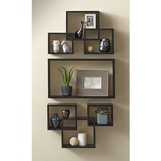 Product Image for Interlocking Wall Shelf Set in Cosmo Black 2 out of 2