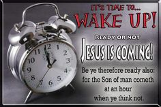 Wake Up! We have a lot of work to do. Go ye into all the world and preach the gospel...  HE DESIRES THAT NONE SHOULD PERISH.