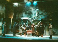Summer opera production of 'Tosca,' Gulbenkian Theatre, 2001