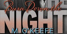 Wicked Reads: Burn Down the Night by M. O'Keefe