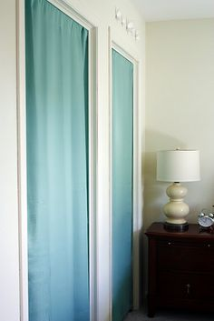 Curtains Instead Of Closet Doors