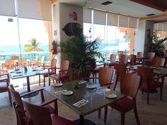 Vista al mar desde el Restaurante Acuario