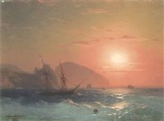 View Of The Ayu Dag, Crimea - Ivan Aivazovsky