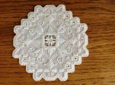 Roz Watnemo Hardanger Christmas Ornament 2014