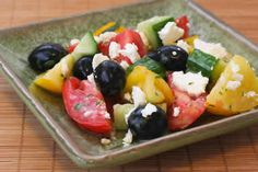 Wanna-Be Greek Salad:  An Easy South Beach Recipe from Kalyn's Kitchen