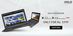 Price Drop! Buy Xolo Chromebook (HR-116R) with 2GB RAM, Chrome OS for Rs. 9,999 at Snapdeal