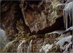 Robert Bateman At the Cliff Bobcat