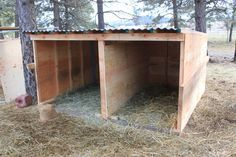 sheep shelter - Google Search
