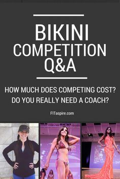 Wonder how much competing in a bikini competition really costs? Get the breakdown, PLUS my thoughts on if you really need a coach. Video series answering reader questions on bikini competitions from the perspective of a competitor.