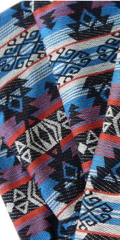 Aztec Fabric, Peruvian Fabric, Woven South American fabric by the meter