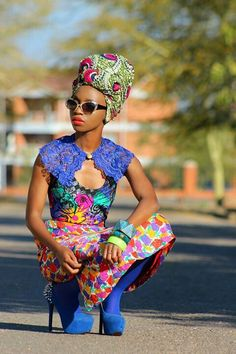 Its African inspired. ~Latest African Fashion, African Prints, African fashion styles, African clothing, Nigerian style, Ghanaian fashion, African women dresses, African Bags, African shoes, Nigerian fashion, Ankara, Kitenge, Aso okè, Kenté, brocade. ~DKK