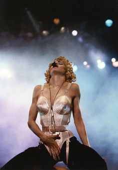 "Madonna ""The Blonde Ambition Tour"" performs ""Like a Virgin"" 1990."