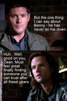 8x09 Citizen Fang. Dean is such a jerk. It's not as if he hasn't let Sam down before. Why would he say that to him?