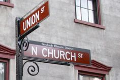 new Stockade Historic District signs at N. Church and Union Sts in Schenectady NY - Custom Street Signs, Past, Photography, Ideas, Past Tense, Photograph, Fotografie, Photoshoot, Thoughts