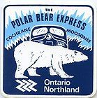 Gotta do this one day Polar Bear Express, Northern Girls, Sexy Pin Up Girls, Ontario Travel, Canadian Travel, G Adventures, Painted Signs, Vintage Travel, Travel Posters