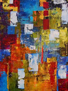 """Transitions by Cynthia and Steve Adams Acrylic ~ 48"""" x 36"""""""