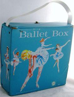 MATTEL: 1966 Blue Ballet Box #Vintage #Toys
