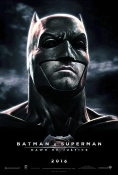 Ben Affleck and the Bat cowl for Batman V Superman Dawn Of Justice.