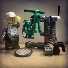 Bicycle mechanic - For more great pics, follow www.bikeengines.com