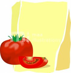 Free Fruits And Vegetables	 Illustration