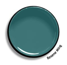 Resene Ming is a ceramic blue green. From the Resene Multifinish colour collection. Try a Resene testpot or view a physical sample at your Resene ColorShop or Reseller before making your final colour choice. www.resene.co.nz Interior House Colors, Interior Paint, Home Interior Design, Interior And Exterior, Exterior Homes, Resene Colours, Paint Colors For Home, Paint Colours, Blue Gray Paint