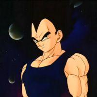 "Vegeta (ベジータ, Bejîta ) est un des personnages Principaux de la Saga ~ Sa Fiche Profil • Lien Web : Wikia ""France ł French"" ~ ㊗_Dragon_Ball_㊗"
