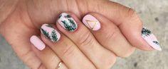 24 Awesome Tropical Nails Designs to Make Your Summer Rock Tropical Nail Designs, Bright Red Nails, Christmas Manicure, White Nail Polish, Halloween Nail Art, Types Of Nails, Nail Decorations, Nail Trends, Diy Nails