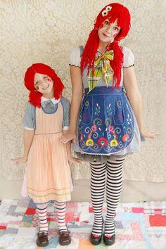 Kostüm rote Perücke-Fasching Katie-Skunkboy DIY-projekt Puppe