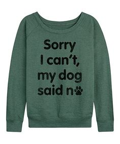 A side benefit of working from home? Fill your WFH wardrobe with loungewear separates and stay clocked in for comfort overtime. Lets Stay Home, New Today, French Terry, Lounge Wear, Screen Printing, Pullover, Sayings, Sweatshirts, Dogs