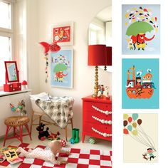 red dresser kids rooms - Google Search