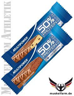 Multipower 50% Protein Bar #Energieriegel #Snack #Protein #Sport #Fitness #Workout
