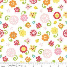 Lori Whitlock - Simply Sweet - Sweet Flower in White